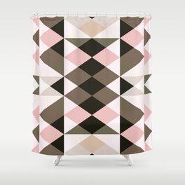 colour + pattern 6 Shower Curtain