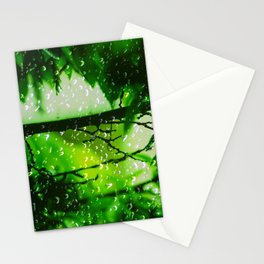 Raindrops falling in love Stationery Cards