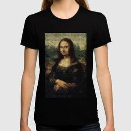 Mona Lisa on tiles T-shirt