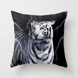 SPIRIT TIGER OF THE WEST Throw Pillow