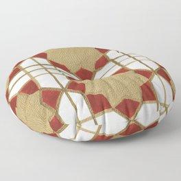 Aga Khan Motif Floor Pillow