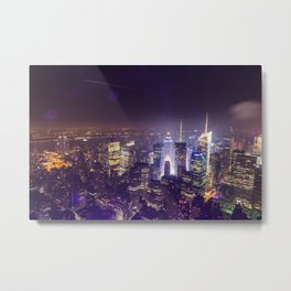 Times Square From Above Metal Print