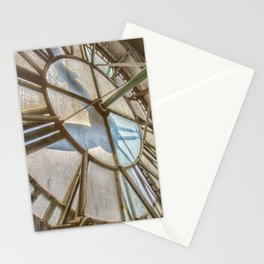 Vintage Clock Tower Stationery Cards