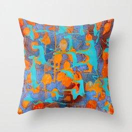 Crucible tetkaART Throw Pillow