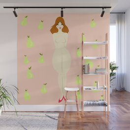 Pear Woman Wall Mural