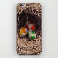 jazzberry iPhone & iPod Skins featuring Yoshi Eggs by Eric Fan