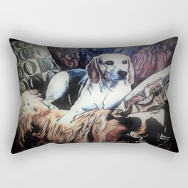 Lucy aka Woo Woo Rectangular Pillow