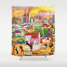Buckeye Road Phoenix Shower Curtain