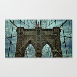 Steadfast - Brooklyn Bridge Canvas Print
