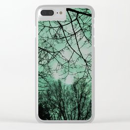 Opening sky Clear iPhone Case
