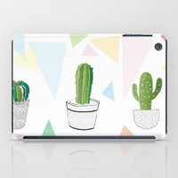 cactus iPad Cases featuring Cactus by March Hunger