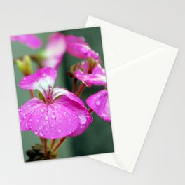 Water droplet Stationery Cards