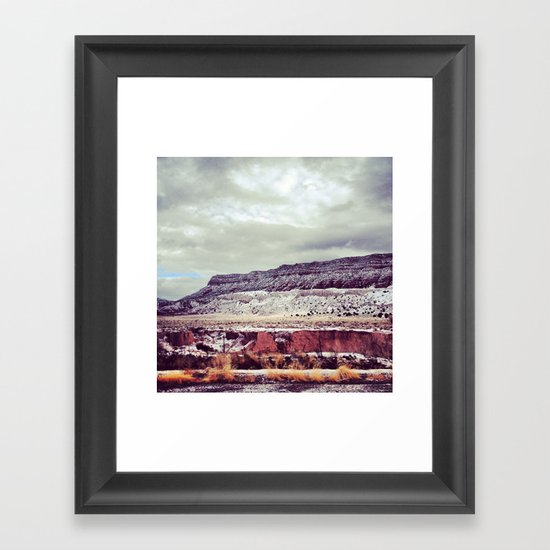 FOUR CORNERS Framed Art Print