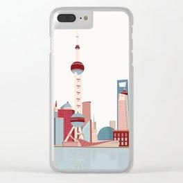 City Shanghai Clear iPhone Case