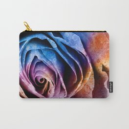 Abstract Acrylic Rose Carry-All Pouch