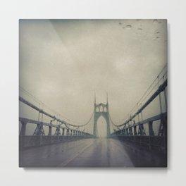 St. Johns Bridge Metal Print