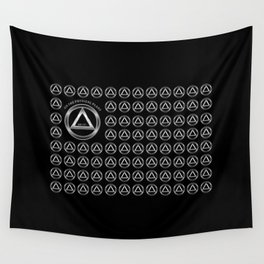 ENTITY ON THE PHYSICL PLANE Wall Tapestry