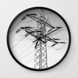 pole of power Wall Clock