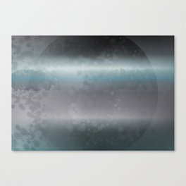 Space Disk Plate Canvas Print