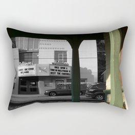 Classic American movie theater Rectangular Pillow