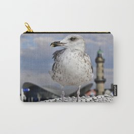 Baltic SEAGULL on the beach chair Carry-All Pouch
