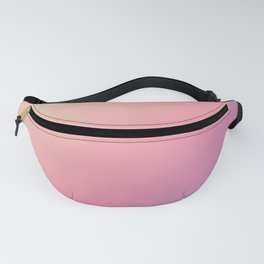 Pastel Yellow, Pink, Purple Gradient Ombre Abstract Fanny Pack