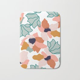 Carmella #illustration #pattern Bath Mat