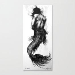 Mermaid 4 Canvas Print