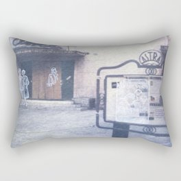 The city remembers; cinema Rectangular Pillow