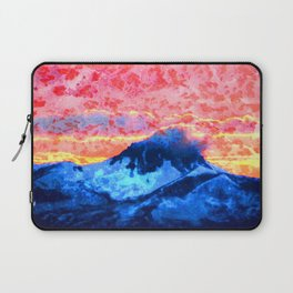 Turmoil on Mt. Jefferson Laptop Sleeve