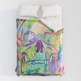 Oh Hell Sherbert Skull Comforters