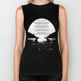 Crossing the Water (poem) by Sylvia Plath Biker Tank