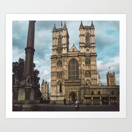Westminster in Summer. Art Print