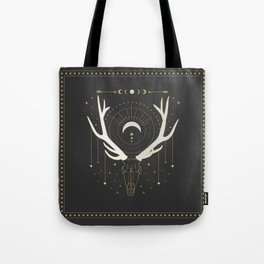 Moon Deer Tote Bag