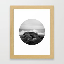 Wave Framed Art Print