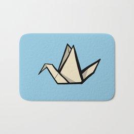 The Art of Origami - Origami Crane Bath Mat