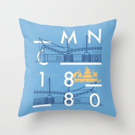 Etihad Stadium - Manchester City Throw Pillow