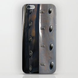 Buttoned, Unbuttoned  iPhone Skin
