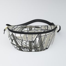 Pioneer Ship Fanny Pack