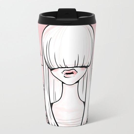 invisible girl Metal Travel Mug