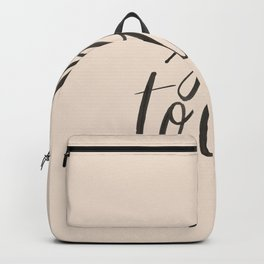 Shit to do Backpack