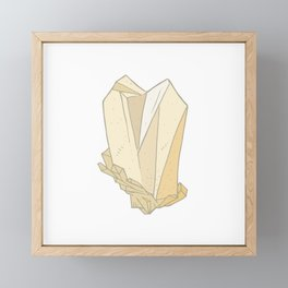 Pearl Gem Framed Mini Art Print