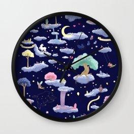 Cute pastel extravaganza Wall Clock