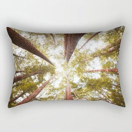 Redwood forest Rectangular Pillow