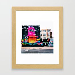 Where is Justice? Framed Art Print