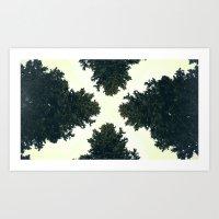 Treex ∆ Art Print