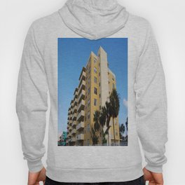 A yellow appartment building Hoody