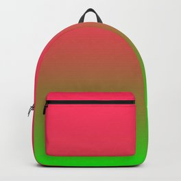 Fuchsia and Lime Gradient Backpack