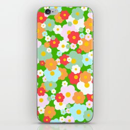 Floral Pattern iPhone Skin