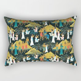 ancient Egypt Rectangular Pillow